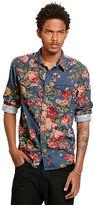 Denim & Supply Ralph Lauren Floral Corduroy Cowboy Shirt