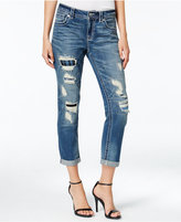Miss Me Ripped Cropped Boyfriend Jeans