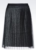Emporio Armani Skirt In Tulle