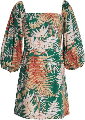 Cara Cara Montauk Floral Poplin Mini Dress
