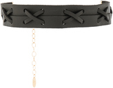 Ettika Leather Choker