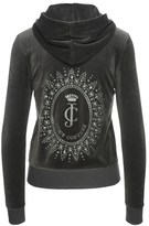 Juicy Couture Logo Velour Starburst Cameo Robertson Jacket