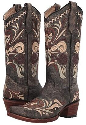 Corral Boots L5438 (Black/Sand) Women's Boots