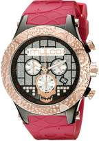 Mulco Men's MW5-2331-623 Couture Analog Display Swiss Quartz Red Watch