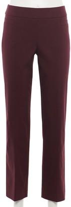 Croft & Barrow Women's Millennium Tummy Control Pull-On Pants