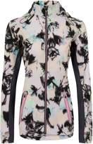 Elle Sport Printed Lightweight Jacket With Mesh Detail