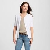 Merona Women's Short Sleeve Crewneck Jersey Cardigan