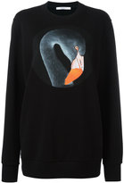 Givenchy bird print sweatshirt - women - Cotton - M