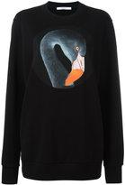 Givenchy bird print sweatshirt - women - Cotton - XS