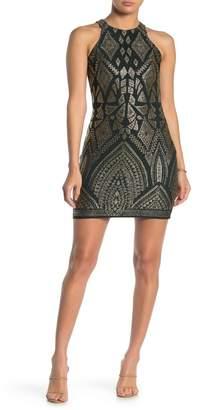 Jump Glitter Slinky Dress