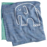 Baby Essentials Mod Menagerie Blanket (Blue Elephant)