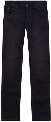 Emporio Armani Crease Detail Straight Jeans
