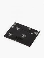 Lanvin Black Spider Motif Cardholder