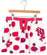 Milly Minis Girls' Mini Floral Skirt