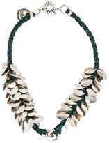 Giles & Brother Leaf Collar Necklace