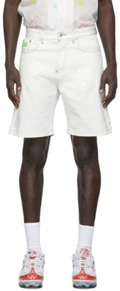 GCDS Off-White Bucket Bermuda Shorts