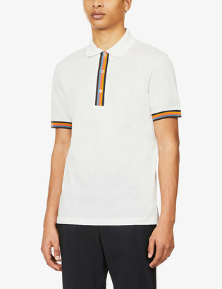 Paul Smith Artist Stripe cotton polo shirt