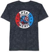 JEM Men's Vintage Captain America T-Shirt