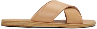 Ancient Greek Sandals Brown Thais Sandals