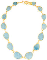 Gurhan 24K Aquamarine Elements Hue Necklace