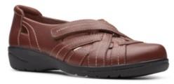 Clarks Collection Women's Cheyn Tulip Flats Women's Shoes