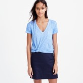 J.Crew Linen cool-dye pocket T-shirt