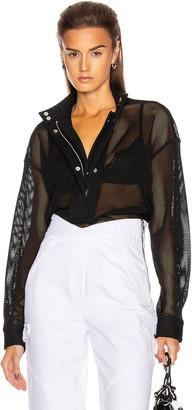 RtA Josie Shirt in Black | FWRD