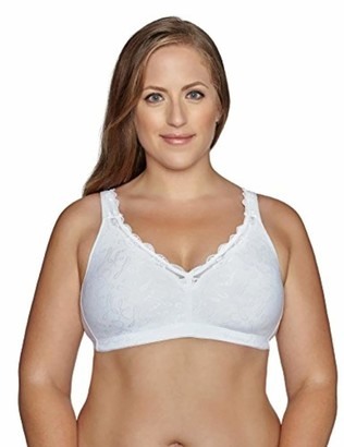 Exquisite Form Fully Women's Wirefree Back Close Bra with Comfort Lining #51062048 38C