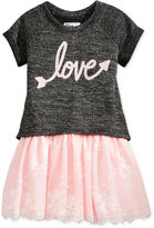 Epic Threads 2-Pc. Top and Ballerina Dress Set, Toddler & Little Girls (2T-6X), Only at Macy's