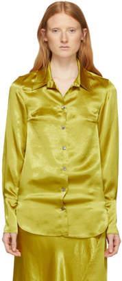 Ann Demeulemeester Yellow Magya Shirt