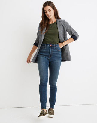 Madewell Tall Curvy Roadtripper Supersoft Jeans in Playford Wash