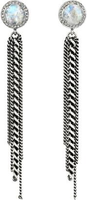 Sheryl Lowe Moonstone Fringe Earrings