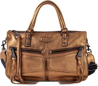 Aimee Kestenberg Road Trip Leather Satchel Handbag