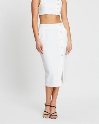 Nude Lucy Neve Linen Skirt