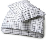 Lexington Company Lexington American Country Pin Point Oxford Country Check Duvet Cover Navy - Double