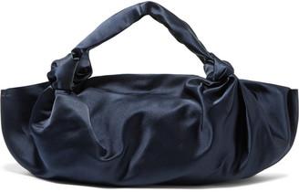 The Row Ascot Knot Satin Shoulder Bag