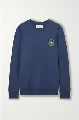 Casablanca Embroidered Cotton-jersey Sweatshirt
