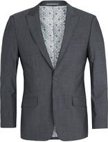 Oxford Hopkins Wool Suit Jacket Grey X