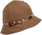 Barbour Country Cottage Cloche Hat - Waxed Cotton (For Women)