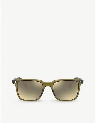 Oliver Peoples OV5419SU Lachman Sun acetate glass square-frame sunglasses