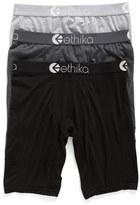 Ethika 3-Pack Modal Blend Boxer Briefs