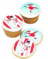 Wilton Edible Decorating Stickers - Christmas