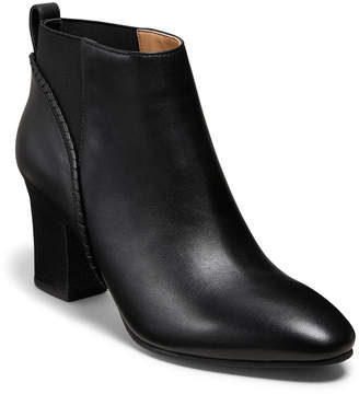 Jack Rogers Poppy High-Heel Leather Booties