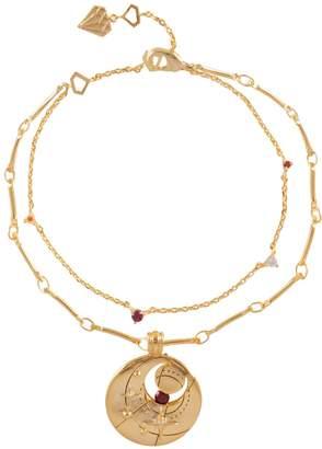 Wanderlust + Co January Birthstone Gold Bracelet