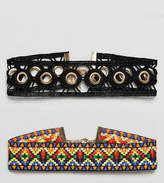 New Look 2 Pack Aztec Festival Choker