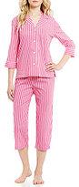 Lauren Ralph Lauren Lauren Ralph Striped Lawn Pajamas