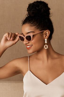 Feroce Eyewear Emerald Sunglasses By Feroce Eyewear in Pink