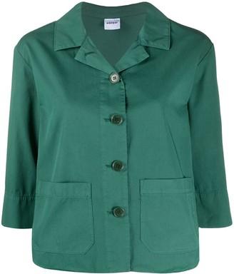 Aspesi Cropped Sleeves Oversized Jacket