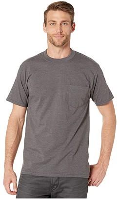 Hanes Beefy-T Crew Neck Pocket Short Sleeve T-Shirt