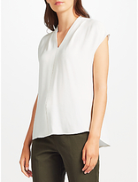 John Lewis Ada Neck Ladder Stitch Top
